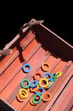 houten ringen voor papegaaienspeelgoed 3