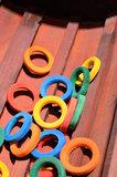 houten ringen voor papegaaienspeelgoed 1