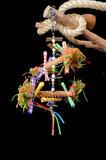 Pendant Straw - dieca - papegaaienspeelgoed 5