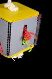 Crinkle Paper Box Medium_