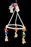 Papegaaienspeelgoed schommel
