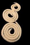 Sisal touw 1 meter 4cm dik _