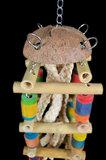 Papegaaienspeelgoed bamboe