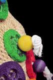Papegaaienspeelgoed maismat