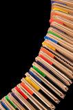 Papegaaienspeelgoed papierpapier