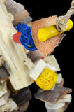 Papegaaienspeelgoed javahout