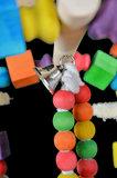 speelgoed voor parkiet en kleine papegaai 6