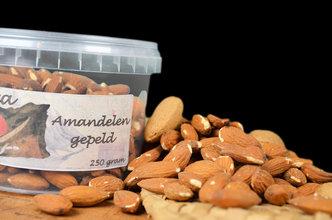 Amandelen gepeld 250 gram
