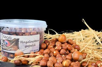 Hazelnoten gepeld 250 gram