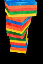Gekleurde Rechthoek Medium
