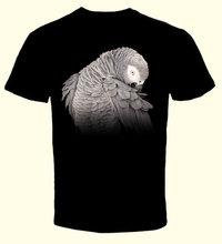 T-Shirt Grijze Roodstaart.