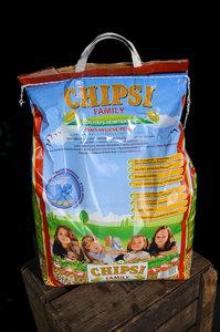Chipsy mais pellets