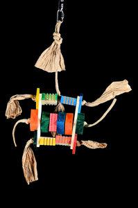 Papegaaienspeelgoed hout