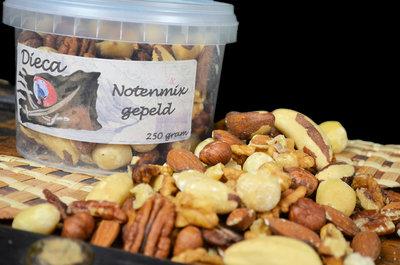 Notenmix gepeld 250 gram